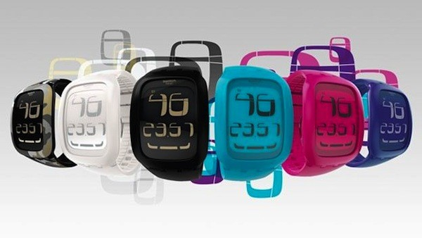 montre swatch ecran tactile